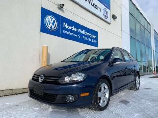 Used 2013 Volkswagen Golf Wagon 2.0L TDI HIGHLINE W/ NAVI - LEATHER / SUNROOF for sale in Edmonton, AB