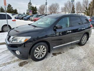Used 2014 Nissan Pathfinder SL; 7PASS LEATHER, BACKUP CAM, TOW PACKAGE, HEATED SEATS AND MORE for sale in Edmonton, AB