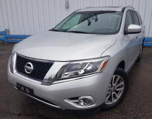Used 2014 Nissan Pathfinder SL AWD *LEATHER-SUNROOF* for sale in Kitchener, ON