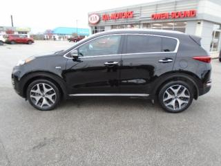 Used 2017 Kia Sportage SX TURBO for sale in Owen Sound, ON