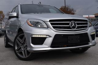 Used 2015 Mercedes-Benz M-Class ML 63 AMG - NO ACCIDENTS - ONTARIO CAR - CERTIFIED for sale in Oakville, ON