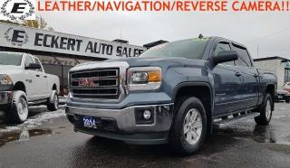 Used 2014 GMC Sierra 1500 SLE WITH NAVIGATION/LEATHER/REVERSE CAMERA for sale in Barrie, ON