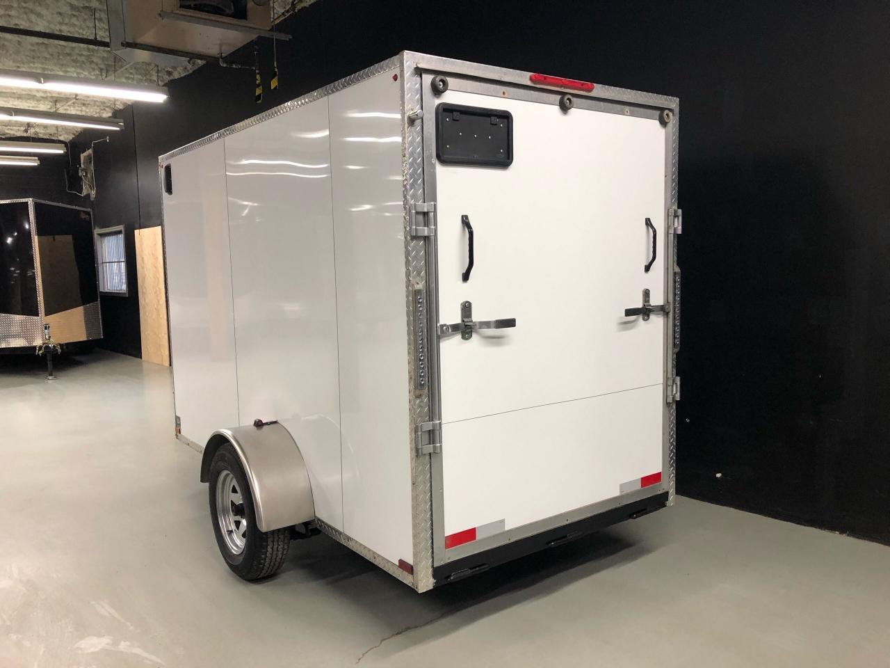 2017 Canadian Trailer Company 5x10 V-Nose