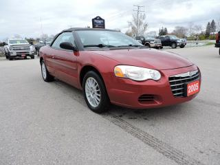 Used 2005 Chrysler Sebring Convertible. V6. Winter stored car for sale in Gorrie, ON