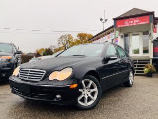 Used 2007 Mercedes-Benz C-Class 3.0L AVANTGARDE|ALLOYS|LEATHER|PWRSEATS|CERTIFIED! for sale in Mississauga, ON