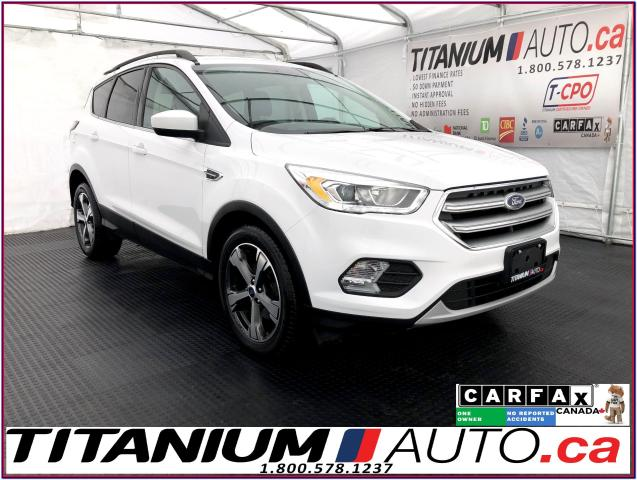 2017 Ford Escape SE+GPS+Pano Roof+Leather Heated Power Seat+Camera+