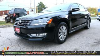 Used 2013 Volkswagen Passat Trendline |LOW KM|NO ACCIDENT|ALLOYS|BT|HEADTED for sale in Oakville, ON
