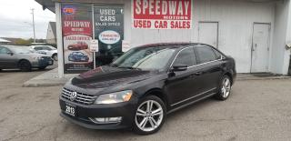Used 2013 Volkswagen Passat Leather, Sunroof, Safety Certified for sale in Mississauga, ON