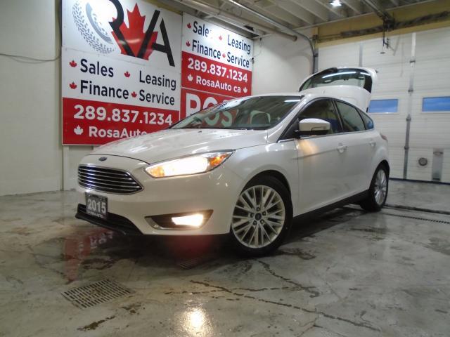 2015 Ford Focus Titanium NAIVGATION BLUETOOTH B-CAMERA/SENSOR