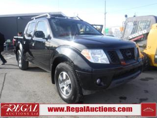 Used 2010 Nissan Frontier PRO-4X 4D Crew CAB 4X4 for sale in Calgary, AB