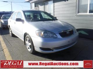 Used 2005 Toyota Corolla CE 4D Sedan for sale in Calgary, AB
