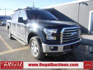 Used 2016 Ford F-150 XLT SuperCrew 4WD for sale in Calgary, AB
