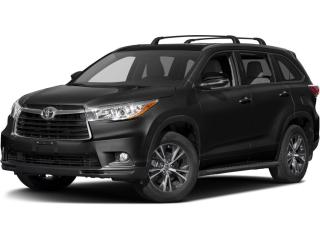 Used 2016 Toyota Highlander XLE LEATHER  ROOF  NAVI  BACKUP CAMERA for sale in Ottawa, ON