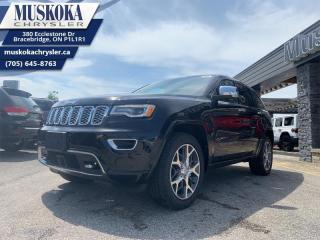 New 2020 Jeep Grand Cherokee Overland  - Leather Seats for sale in Bracebridge, ON