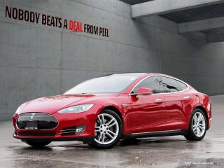 Used 2013 Tesla Model S 85, Pano Roof, Pwr Hatch, Subzero, Smart Susp, EV for sale in Mississauga, ON