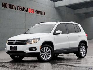 Used 2017 Volkswagen Tiguan Wolfsburg Edition*Sunroof*Cam*Heated Seats* for sale in Mississauga, ON