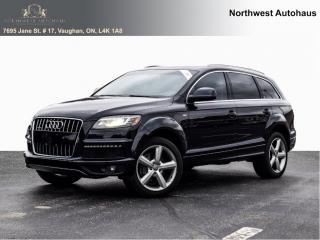 Used 2011 Audi Q7 3.0L TDI Premium  S LINE NO ACCIDENTS  5 TO CHOOSE for sale in Concord, ON