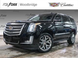 Used 2017 Cadillac Escalade PLATINUM, SUNROOF, DVD, MASSAGE for sale in Woodbridge, ON