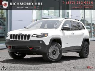 Used 2019 Jeep Cherokee 4x4 Trailhawk Trailer Tow Group|Uconnect 4c Nav for sale in Richmond Hill, ON
