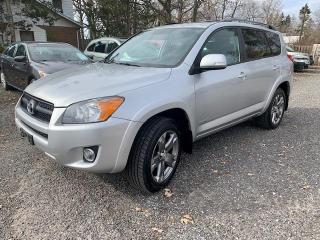 Used 2011 Toyota RAV4 4WD 4dr I4 Sport, service records, no rust for sale in Halton Hills, ON