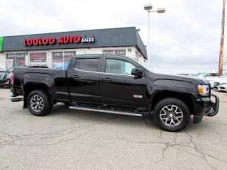 Used 2016 GMC Canyon ALL TERRAIN CREW CAB 4WD DIESEL LONG BOX CERTIFIED for sale in Milton, ON