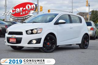 Used 2015 Chevrolet Sonic HATCH FUN & SUN SUNROOF REAR CAM HTD SEATS for sale in Ottawa, ON