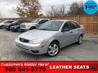 Used 2007 Ford Focus SE  LEATHER SUNROOF ALLOYS POWER-GROUP for sale in St. Catharines, ON