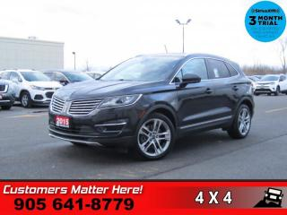Used 2015 Lincoln MKC Reserve  RESERVE NAV ROOF P/GATE P/SEAT for sale in St. Catharines, ON
