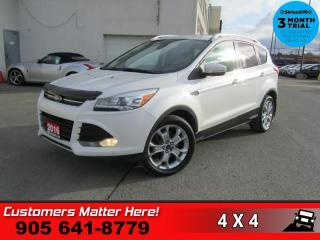 Used 2016 Ford Escape Titanium  4X4 NAV CS ROOF P/GATE LEATH for sale in St. Catharines, ON
