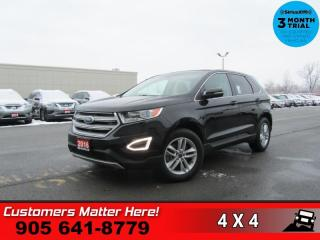 Used 2016 Ford Edge SEL  AWD NAV LEATH ROOF CAM P/SEATS for sale in St. Catharines, ON