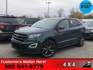 Used 2016 Ford Edge Sport  NAV CS PANO P/SEATS LEATH P/GATE for sale in St. Catharines, ON