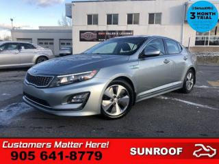 Used 2014 Kia Optima EX  HYBRID CAM DUAL-ROOF P/SEAT  HS for sale in St. Catharines, ON