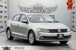 Used 2015 Volkswagen Jetta Sedan Comfortline, BACK-UP CAM, SUNROOF, HEATED SEAT for sale in Toronto, ON