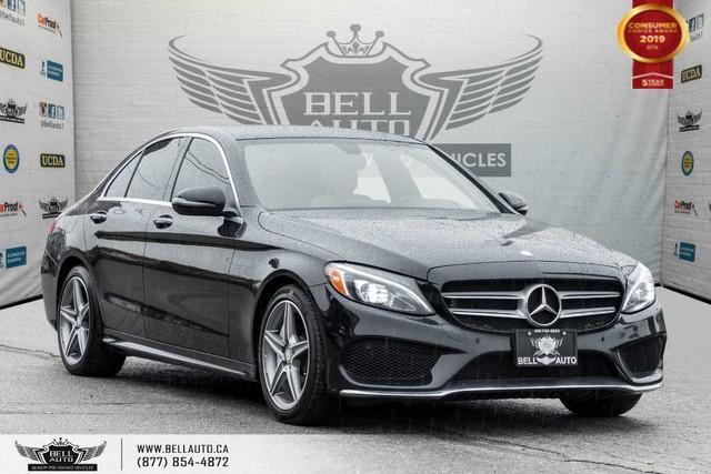 2016 Mercedes-Benz C-Class C 300, AWD, NO ACCIDENT, NAVI, BACK-UP CAM, SENSOR