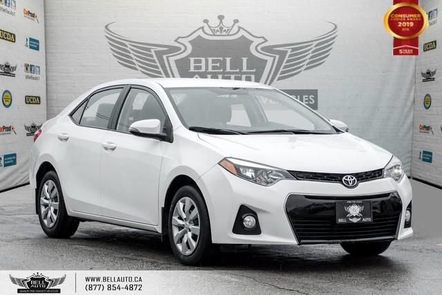 2016 Toyota Corolla S, BACK-UP CAM, LEATHER, HEATED SEATS, BLUETOOTH