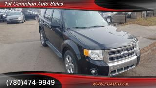 Used 2010 Ford Escape Limited for sale in Edmonton, AB