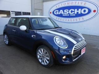 Used 2016 MINI 3 Door Cooper, Panoranic Glass Roof for sale in Kitchener, ON
