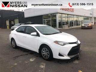 Used 2017 Toyota Corolla CE  - Bluetooth - $105 B/W for sale in Ottawa, ON