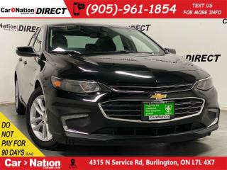 Used 2018 Chevrolet Malibu LT w-1LT| PUSH START| BACK UP CAM| POWER SEAT| for sale in Burlington, ON