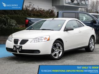 Used 2008 Pontiac G6 GT Leather Upholstery for sale in Coquitlam, BC