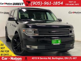 Used 2019 Ford Flex Limited| AWD| LEATHER| BACK UP CAM & SENSORS| for sale in Burlington, ON