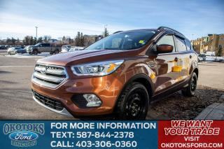 Used 2017 Ford Escape ONE OWNER, NO ACCIDENTS, SE CONVENIENCE PACKAGE, SYNC CONNECT, POWER LIFTGATE, NAVIGATION, HEATED SE for sale in Okotoks, AB