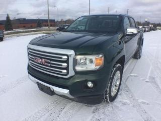 Used 2016 GMC Canyon 4WD SLT for sale in Thunder Bay, ON