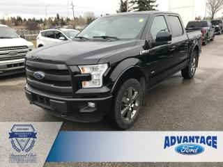 Used 2016 Ford F-150 Lariat Leather Seats - Voice Activated Navigation for sale in Calgary, AB