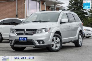 Used 2012 Dodge Journey Low KM|7 Seats|New Brakes|New Tires|Keyless Entry for sale in Bolton, ON
