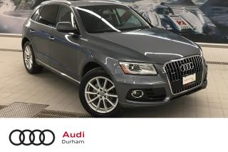 Used 2017 Audi Q5 2.0T Technik + Nav | Rear Cam | Blind Spot for sale in Whitby, ON