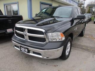 Used 2018 Dodge Ram 1500 LIKE NEW TRADESMEN EDITION 6 PASSENGER 5.7L - HEMI.. 4X4.. QUAD-CAB.. SHORTY.. AUX/USB INPUT.. KEYLESS ENTRY.. for sale in Bradford, ON