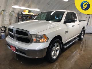 Used 2013 RAM 1500 SLT * 4X4 * Quad cab * Tonneau cover * Line X bed liner * 3.55 Rear Axle Ratio * Rear Power Sliding Window * Touch Screen Display * Automatic headligh for sale in Cambridge, ON