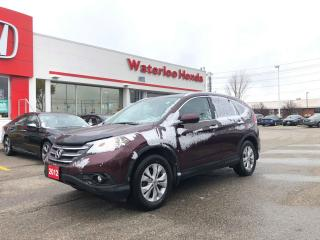 Used 2012 Honda CR-V Touring for sale in Waterloo, ON