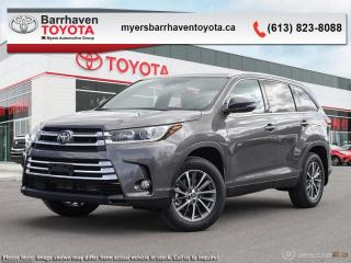 Used 2019 Toyota Highlander XLE AWD  - Navigation -  Sunroof - $282 B/W for sale in Ottawa, ON